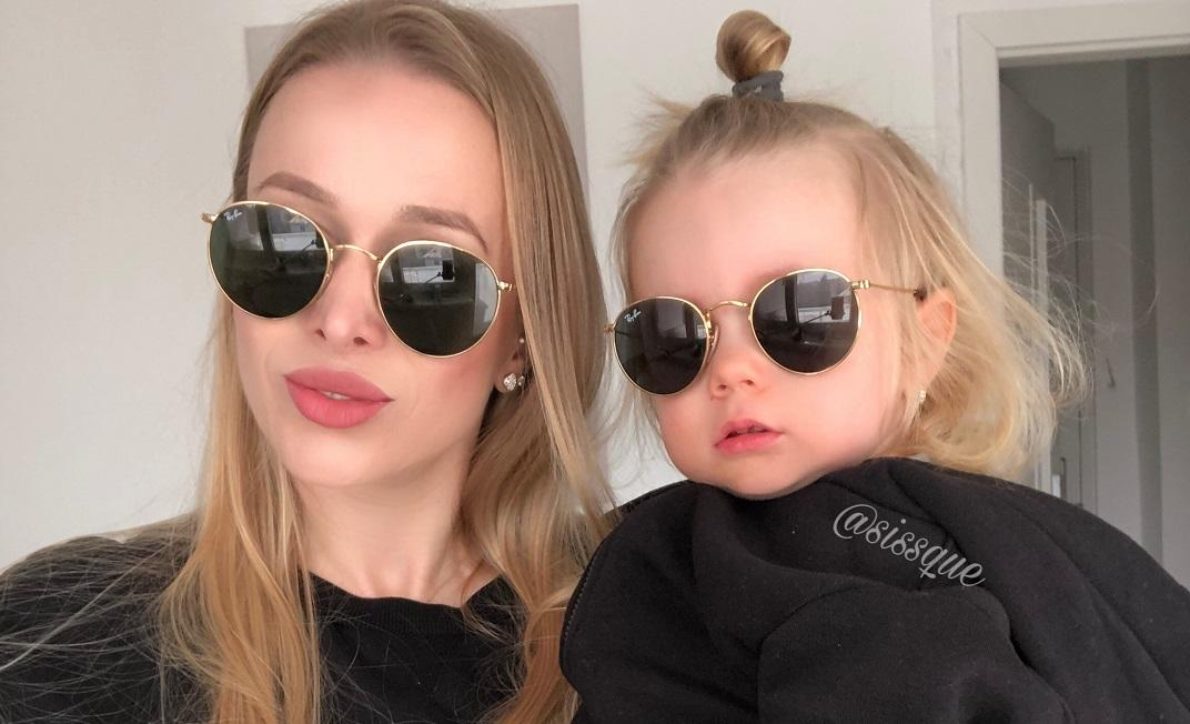 mama a dcéra Ray-Ban