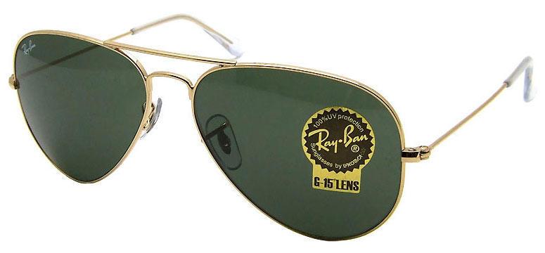 Ray-ban G15 lenses