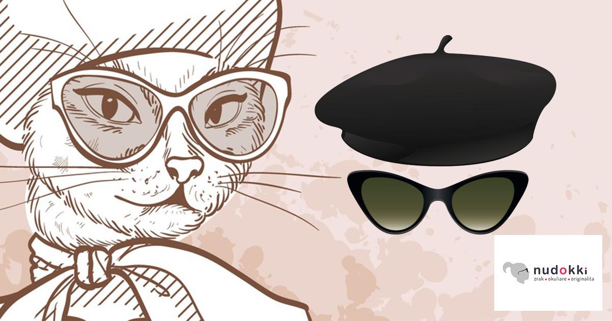mačacie slnečné okuliare