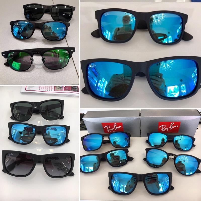 slnečné okuliare Ray-Ban RB 4165 JUSTIN