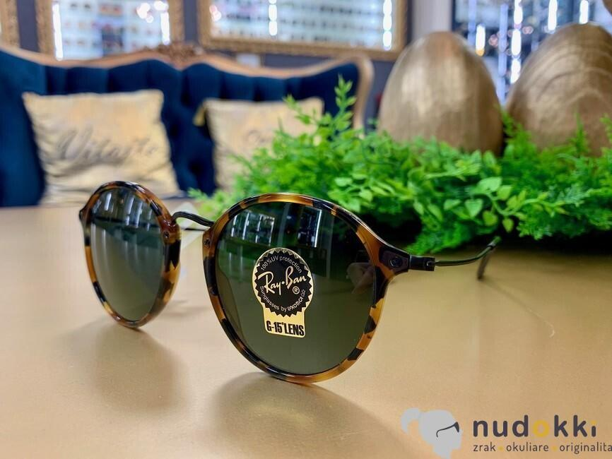 cc48d1d83 slnečné okuliare Ray-Ban Round Fleck RB2447 1157 - Nudokki.sk