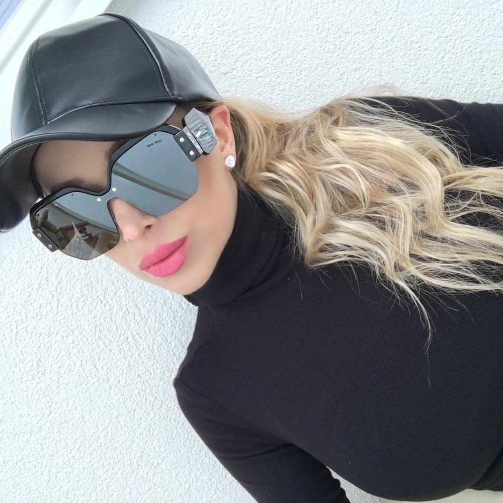 slnečné okuliare Miu Miu 09ss
