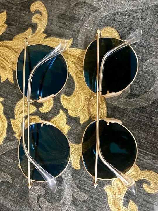 slnečné okuliare Ray-Ban round metal polarized