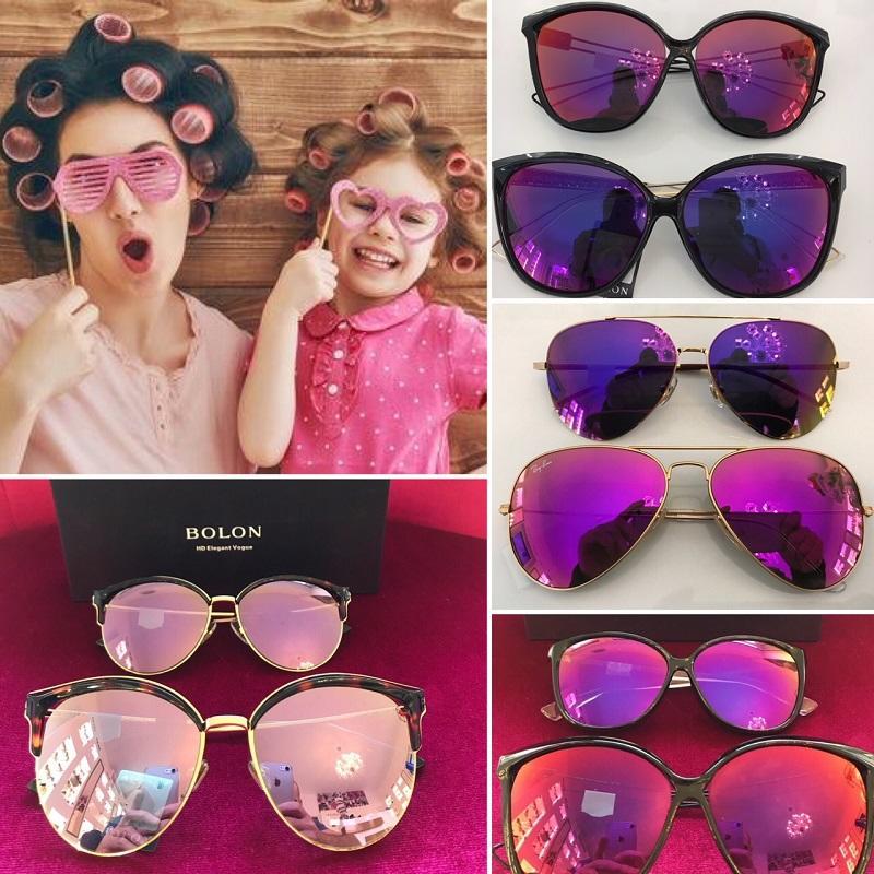 Slnečné okuliare mama a dcéra, otec a syn