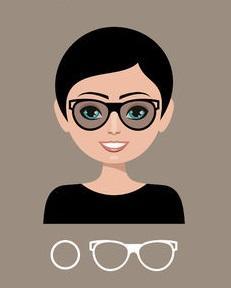 4e52f2509 Tie pravé rámy okuliarov nájdete podľa typu tváre