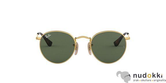detské slnečné okuliare Ray-Ban RJ9547S JUNIOR ROUND 223/71
