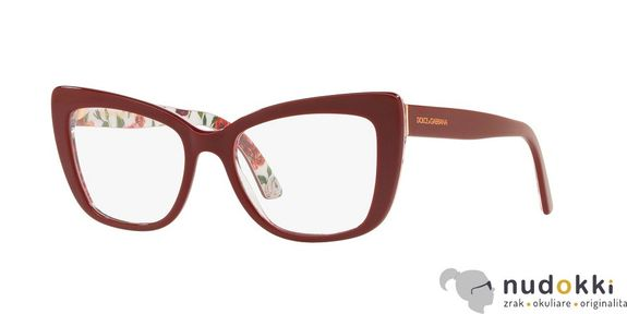 dioptrické okuliare Dolce & Gabbana DG3308 3202