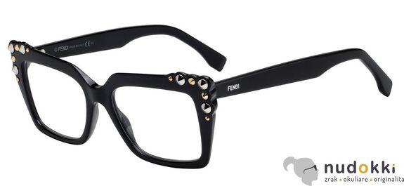 dioptrické okuliare Fendi FF 0262 807