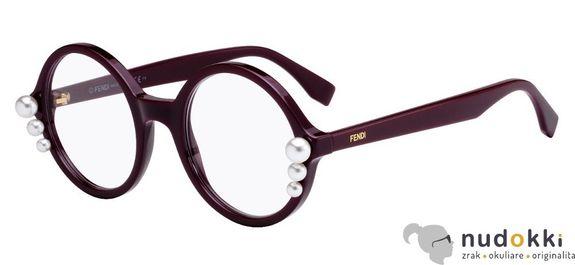 dioptrické okuliare Fendi FF 0298 0T7