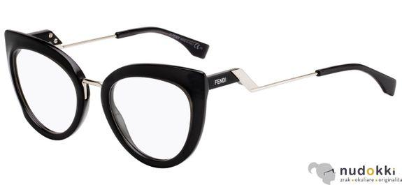 dioptrické okuliare Fendi FF 0334 807