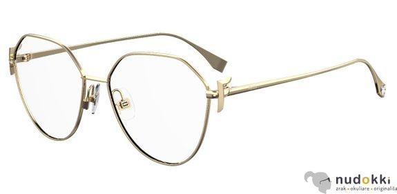 dioptrické okuliare Fendi FF 0389/G J5G