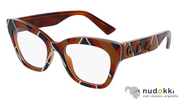dioptrické okuliare GUCCI GG0060O 003