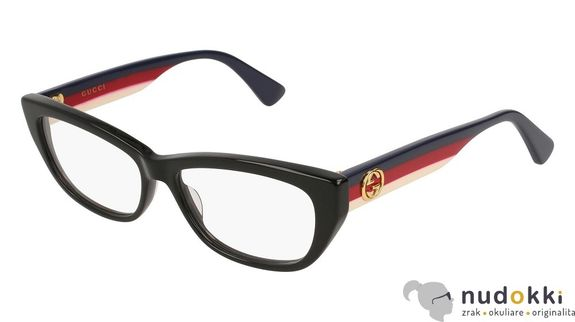 dioptrické okuliare GUCCI GG0277O 001