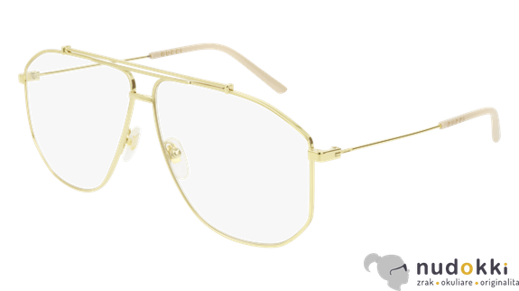 dioptrické okuliare GUCCI GG0441O 002