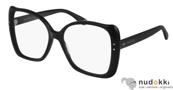 dioptrické okuliare GUCCI GG0473O 001