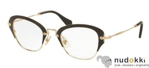 dioptrické okuliare Miu Miu MU 53OV 1AB1O1