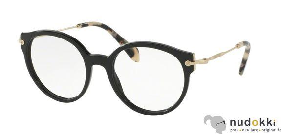 dioptrické okuliare Miu Miu MU 04PV 1AB1O1