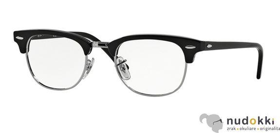 dioptrické okuliare Ray-Ban Clubmaster RX 5154 2000