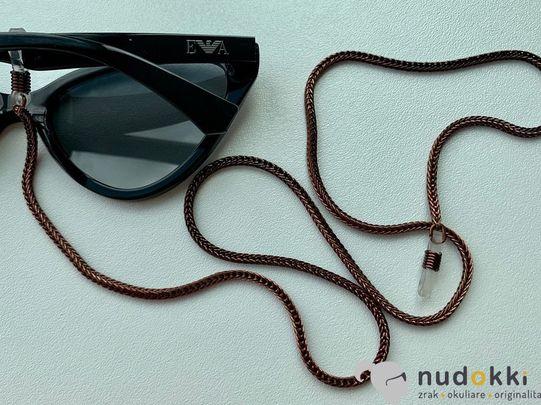 retiazka na okuliare BROWN 200189
