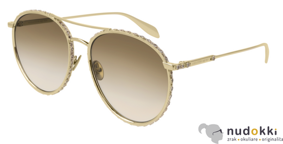 slnečné okuliare Alexander McQueen AM0179S 003