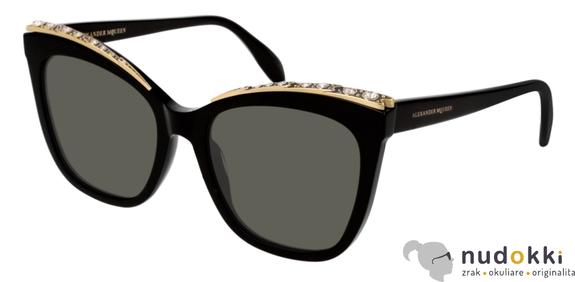 slnečné okuliare Alexander McQueen AM0182S 001