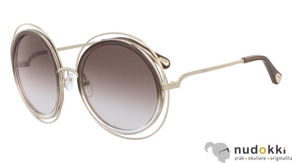 slnečné okuliare Chloe CARLINA CE120SD 742