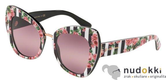 slnečné okuliare Dolce and Gabbana DG 4319 3164W9