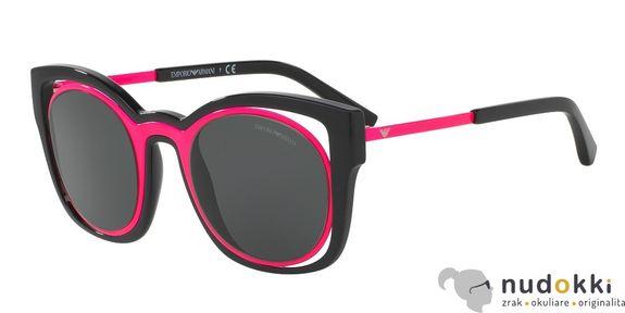 slnečné okuliare Emporio Armani EA 4091 558987