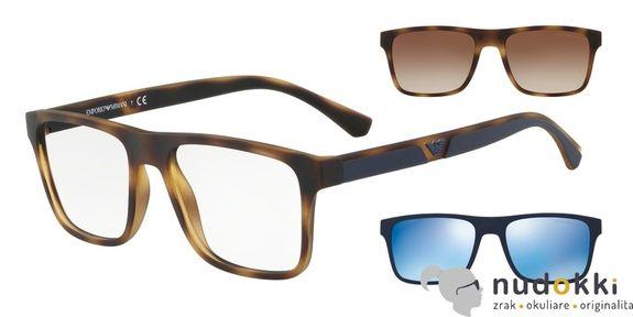 dioptrické okuliare Emporio Armani EA4115 50891W
