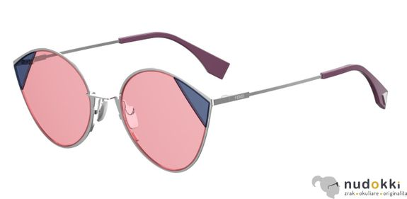 slnečné okuliare FENDI CUT EYE FF0341/S AVB/U1