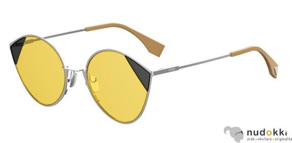 slnečné okuliare FENDI CUT EYE FF0341/S B1Z/HO