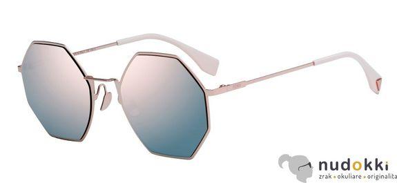 slnečné okuliare FENDI EYELINE FF0292/S 35J/OJ