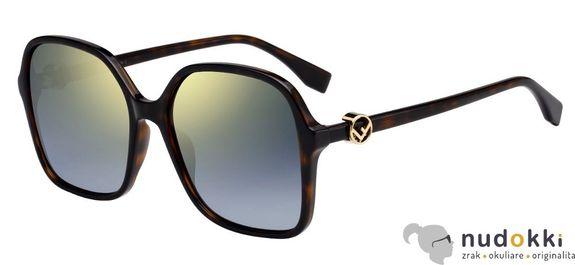slnečné okuliare Fendi F IS FF 0287 086/FQ