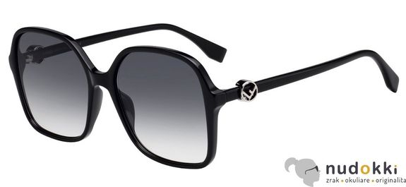 slnečné okuliare Fendi F IS FF 0287 807/9O