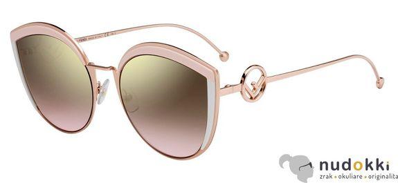 slnečné okuliare Fendi F IS FF 0290/S 35J/53