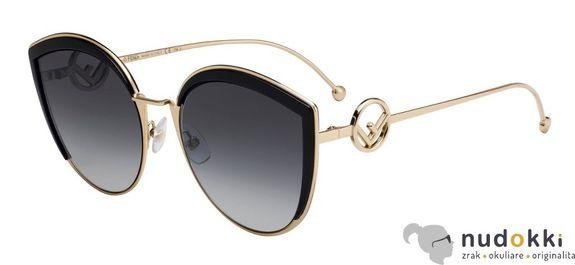 slnečné okuliare Fendi F IS FF 0290/S 807/9O