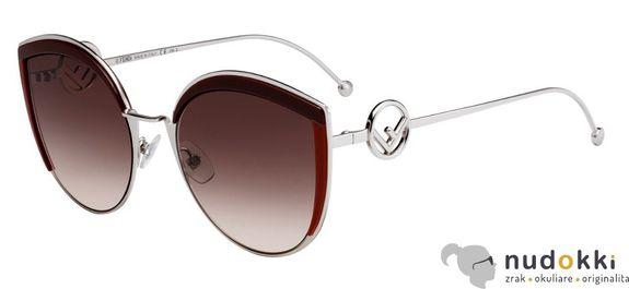slnečné okuliare Fendi F IS FF 0290/S LHF/HA