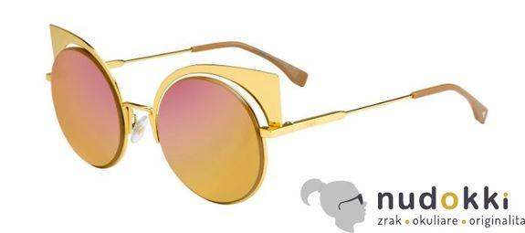 slnečné okuliare FENDI Eyeshine FF 0177 001-OJ