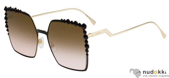 slnečné okuliare Fendi Can Eye FF 0259/S 2O5-53