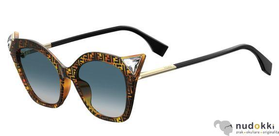 slnečné okuliare Fendi FF 0357/G/S 086/08