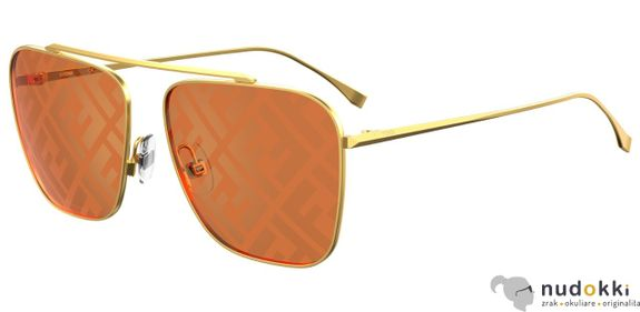 slnečné okuliare Fendi FF 0406/S J5G/0M