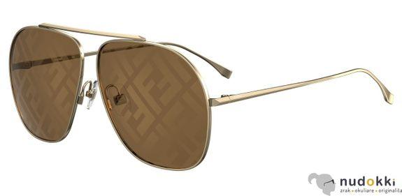 slnečné okuliare Fendi FF 0407/G/S 01Q/EB