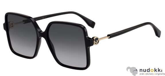 slnečné okuliare Fendi FF 0411S 807/9O