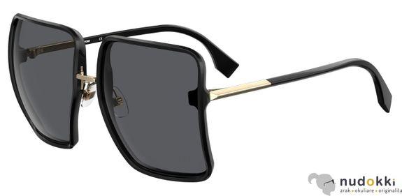 slnečné okuliare Fendi FF FAMILY FF 0402/S 807/IR