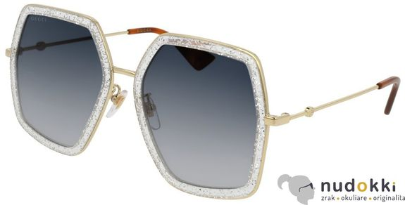 slnečné okuliare Gucci GG 0106S 006