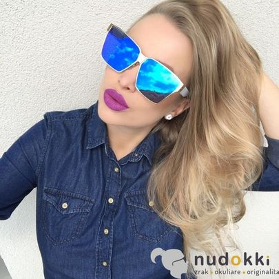 slnečné okuliare IRRESISTOR KUBRIK GD WT