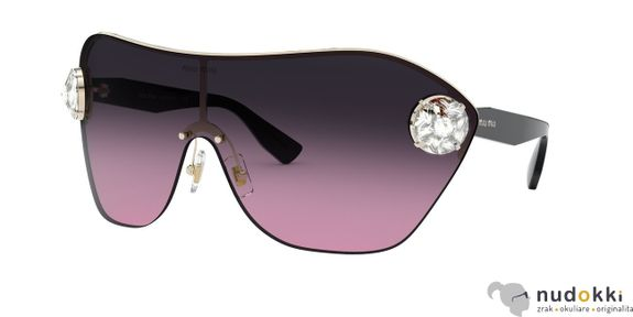 slnečné okuliare Miu Miu MU68US ZVN153