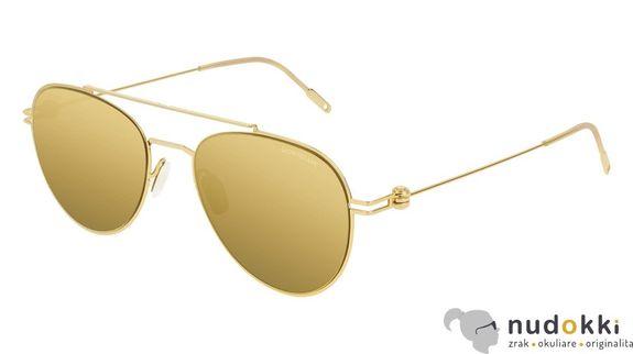 slnečné okuliare MONT BLANC MB0001S 008