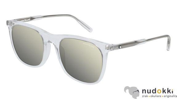 slnečné okuliare MONT BLANC MB0008S 001