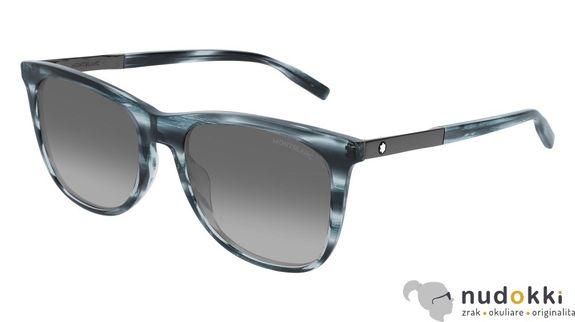 slnečné okuliare MONT BLANC MB0017S 009